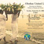 Oloshas United LA Tribute to Yemoja and Oshun
