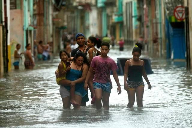 Cuba flooding